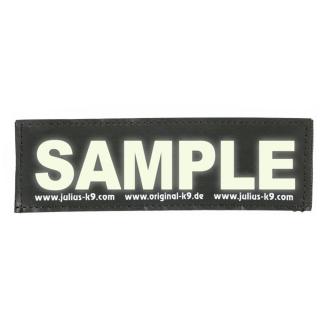 Značke z unikatnimi napisi - LARGE